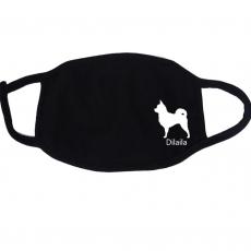 Mund Nasenbedeckung -  Chihuahua mit Namen.