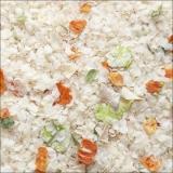 Reisflocken mit Gemüse